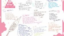 【IZ*ONE】誕生日を迎えたチェヨンにメンバーからメッセージ