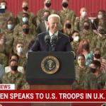 【動画】バイデンさん、演説で「私はいつも自分が大統領であることを忘れてしまう。」w