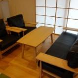 『綾川町に柏木工・セミオーダーセンターテーブルを納品』の画像