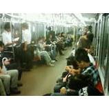 『帰る電車の中』の画像