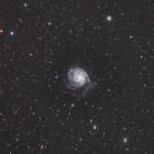 『おおぐま座の回転花火銀河(M101)』の画像