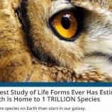 『地球上の生物の0.001%』の画像