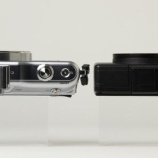 『オリンパス E-PM1とGRD3の大きさ比較画像』の画像
