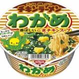 『【コンビニ:カップラーメン】日清 チキンラーメンどんぶり わかめ』の画像