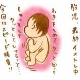 『出産が近づいたときの胎児の話』の画像