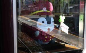 運転台までかわいい阪急電車