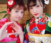 【欅坂46】加藤ナナさんと・りかの晴れ着姿が最高に可愛い!