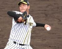 【阪神】高橋 カーブ習得へまずは真っすぐ!福原コーチ「何球かいい曲がりあった」