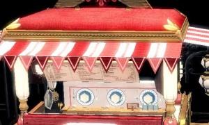大きさ変わるシェフの空飛ぶ屋台 料理カバン