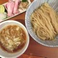 自家製手もみ麺 鈴ノ木@狭山ヶ丘(埼玉県) 「秋刀魚煮干つけ麺(醤油)」