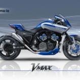 『ビキニカウルを纏ったYAMAHA V-MAXコンセプト 1700 F-Racer』の画像