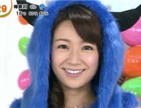 めざましテレビの長野美郷が2日連続でハロウィンのコスプレ
