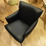 『【軽い椅子】 フジファニチャーのダイニングチェア D418・セミアニリンレザー』の画像