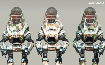 Camouflage Robot Paintjobs