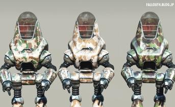 Camouflage Robot Paintjobs