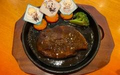 【原神】にんじんとお肉のハニーソテー1100円だよ~グラブルのスイパラのフードと比べると美味しいよ~