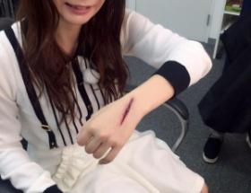 【画像】中川翔子さんがワレメを公開
