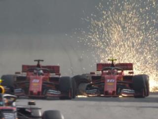 フェラーリ同士のクラッシュ、アルファロメオ、ホンダ:F1ブラジルGP ブランドルのコラム