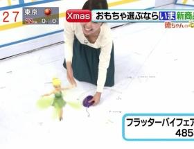 【放送事故】テレビに女子アナの乳首が映る