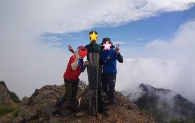 『⑧7/19 道連れ限界登山、熊のフンだらけの芦別岳!』の画像