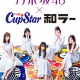 『【速報】日向坂46とのプロモーションが決定したカップスター、今後の乃木坂46起用についての明言が!!!!!!』の画像