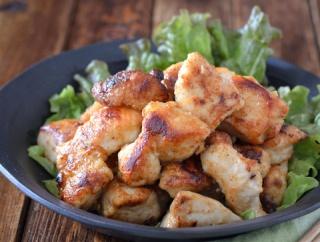 香ばし揚げ焼き鶏。【フライパンメイン・ひと口サイズ・お弁当にも】のごはんの日。