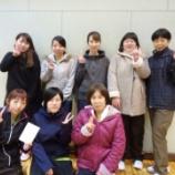 『仙台市 秋季卓球リーグ戦(女子の部)』の画像