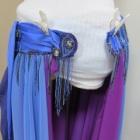 『ベリーダンス衣装 幅が足らなくて着られないスカート、伸ばして着用可能に出来ます!』の画像