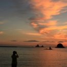 日本一の夕陽