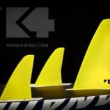 『K4 フィン 売れ筋商品! 大き目のフィンが人気!』の画像