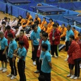『【熊本】九州ブロック大会卓球競技の様子』の画像