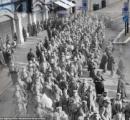 【英国】第一次世界大戦の幽霊:100年前と今の合成写真