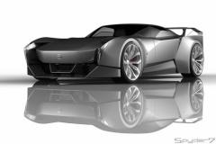 日産「GT-R」次期型【Spyder7予想CG】
