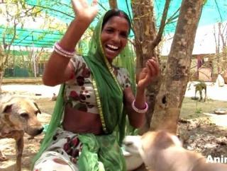 Animal Aid~笑顔がまぶしすぎる!献身的に動物の世話をするスタッフたち