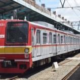 『メトロ6000系6131F車輪交換明け試運転(3月23日)』の画像