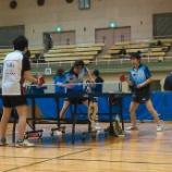 『第20回仙台市個人ラージボール卓球大会(ダブルス戦)』の画像