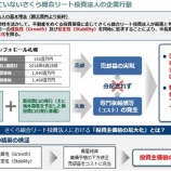 『スターアジア不動産投資法人 日本管財を巻き込みながらさくら総合リート投資法人の運用会社を批判』の画像