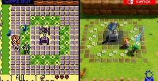『ゼルダの伝説 夢をみる島』、Switch版とGB版のグラフィックを比較した映像が公開!