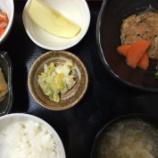 『今日の桜町昼食(和風煮込みハンバーグ)』の画像