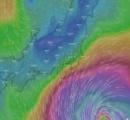 台風16号「ミンドゥル」週明けには猛烈な勢力に発達。暴風域を伴ってゆっくりと北上中。9月25日19:34