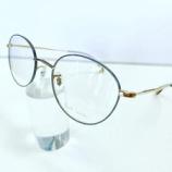 『PaulSmith Spectales、男女兼用のボストン型シンプルメタルフレーム』の画像