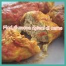 ズッキーニの花の肉詰め&イタリア語勉強アカウント始めました