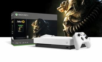 Fallout 76 同梱版『Xbox One X Robot White スペシャル エディション』11月16日発売!