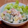 ポテトでボリュームアップ「ツナマヨポテトサラダ」&「塩元帥で焼き飯を食べる」