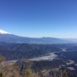 『篠井山に登ってきました。』の画像