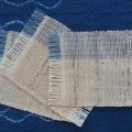 ぜんまい綿毛糸のコースター(大サイズ)