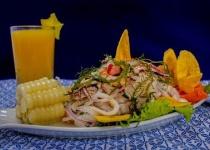 ペルー人ハーフワイ、ペルー料理の半分ぐらい口に合わない