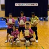 『◇仙台卓球センター◇ 第25回はねっこアリーナ卓球大会 結果』の画像