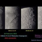 『近内令一先生撮影 MAKSY60による月面拡大・シュミカセによる火星 2021/02/25』の画像