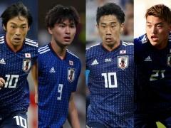 香川・宇佐見が加わった日本代表、2列目はどうなる?
